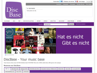 Pagewerkstatt: DiscBase - Your Music Data Base